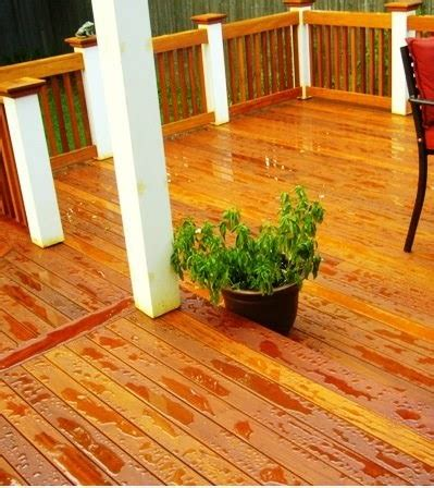 wood deck care protecting  staining ipe mahogany