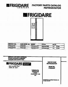 Frigidaire Frigidaire Side By Side Refrigerator