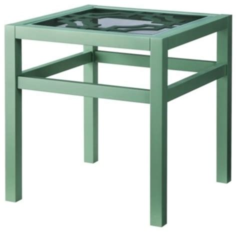modern table ls target threshold lattice top accent table green modern side