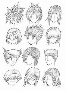 Drawing Anime Hairstyles Drawing Sketch Library