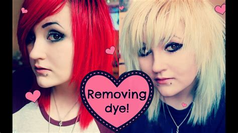 How I Fade And Remove My Hair Dye ♥ Youtube