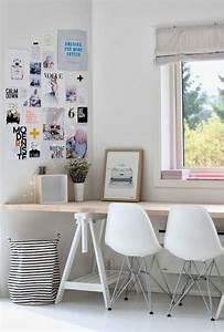 Bureau Design Scandinave : am nagement d 39 un petit espace de travail le bureau style scandinave ~ Teatrodelosmanantiales.com Idées de Décoration