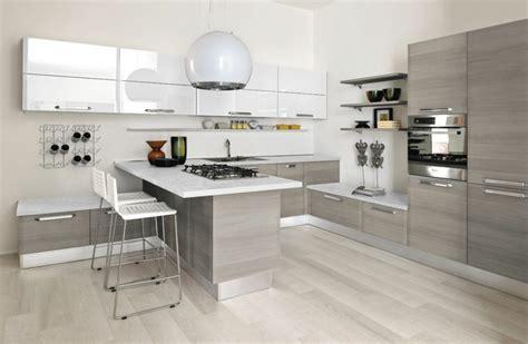 plan cuisine moderne plan de travail cuisine moderne en et bois