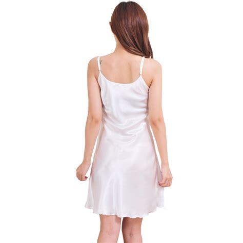 s nightshirts satin chemises comfortable slip sleepwear nightwear ebay