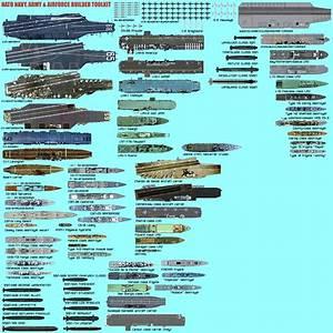 Us Navy  Nato Scale Ship Diagrams