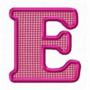 alphabet applique patterns in the hoop designs single With single alphabet letters images