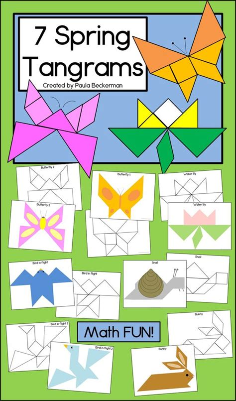 tangrams kindergarten preschool learning and 526 | 60f6d94f7e029dc7d48360267aff087f