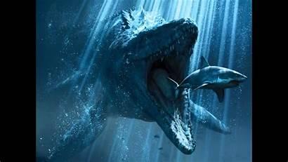Jurassic Mosasaur