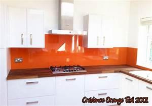 Credence Cuisine Orange. cr dence en verre tournai belgique am ...