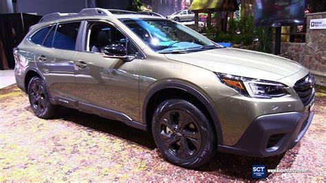 Subaru Outback 2020 New York by 2020 Subaru Outback Xt Exterior Interior Walkaround