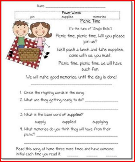 free printable reading comprehension worksheets first grade 1st grade reading comprehension worksheets free