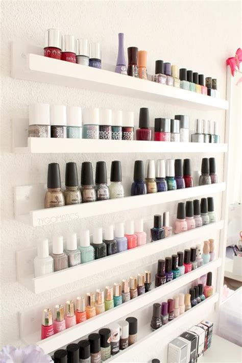 10 rangements pour organiser vos vernis 224 ongles