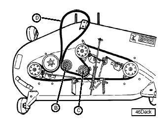 deere lt160 mower deck belt diagram car interior design