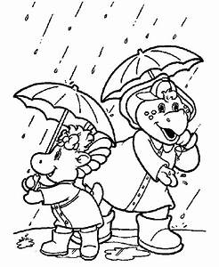 baby bop coloring pages - barney coloring pages pj and baby bop coloring book