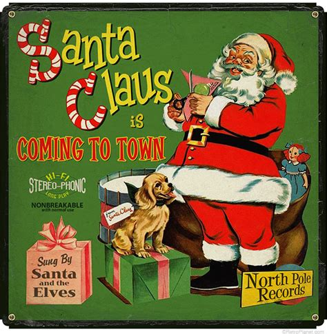 christmas decorating  retro signs featuring vintage