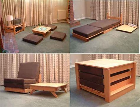 multi purpose home spaces 17 multi purpose furniture that changes function in no time