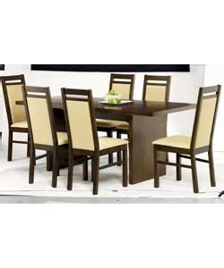 dining table richmond oak dining table 6 chairs