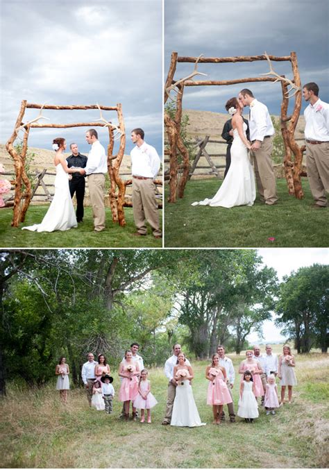 crafty low budget wedding with sweet diy details