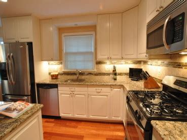 brown kitchen cabinets recess lights archives decor eye home granite 6421