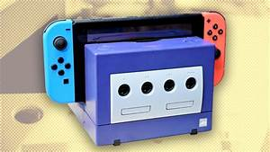 Purple Gamecube Dock For Nintendo Switch - An Update