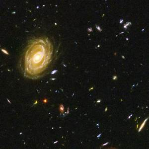 Hubble Deep Field Universe - Pics about space