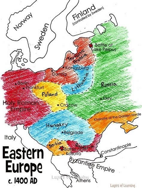 eastern europe   middle ages medieval europe