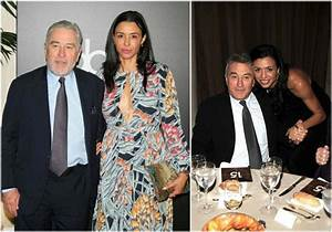 Award winning actor and director Robert De Niro and his family