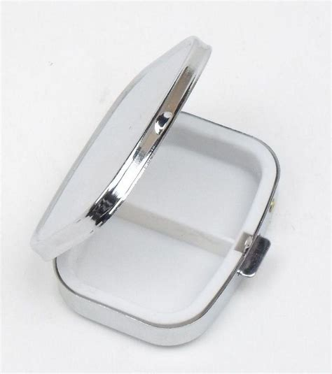 In this article, we explain how and when to take plan b. Hot! Pill box Metal Blank Rectangle Pill Container Silver ...