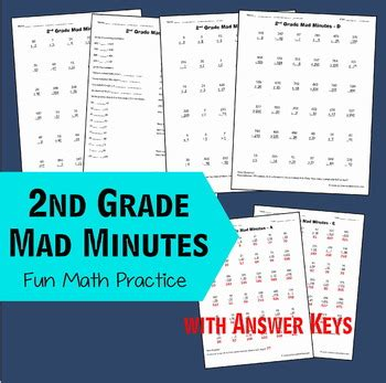 grade math mad minutes  beth gorden teachers pay
