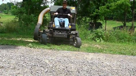 lawn mower with bagger for sale cub cadet tank 54 quot tractor zero turn lawn mower w bagger 608 hrs for sale youtube