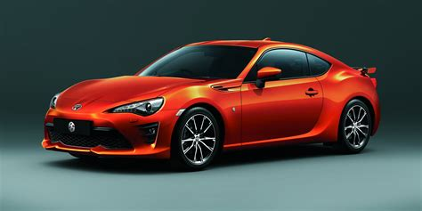sports cars 2017 2017 toyota 86 updated and uprated sports car confirmed