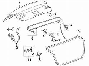 96886814 - General Motors Harness Assembly  Cmpt Lid