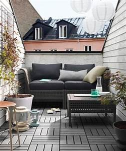 Balkon Bank Klein : 25 beste idee n over klein balkon tuin op pinterest appartement balkon tuin appartement ~ Frokenaadalensverden.com Haus und Dekorationen