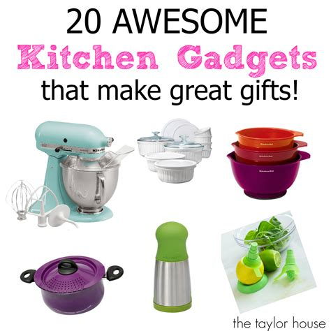 kitchen gift gifts gadgets kitchenaid thetaylor