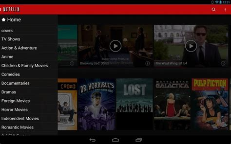 netflix for android update brings updated ui smoother