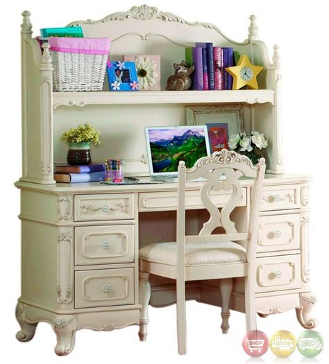 cinderella writing desk hutch chair 1386 11 homelegance