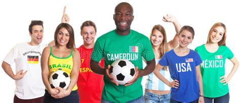 football fan  cameroon  ball   fans stock