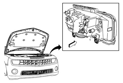 manual repair autos 1981 chevrolet camaro parking system repair instructions parking and turn signal l bulb replacement 2014 chevrolet camaro