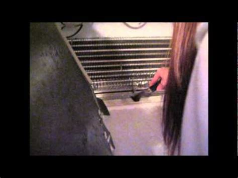 unclog frozen drain tube roper refridgeratorwmv youtube