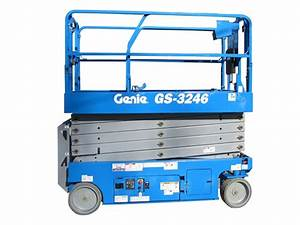 Genie Gs-3246 Slab Scissor Lift