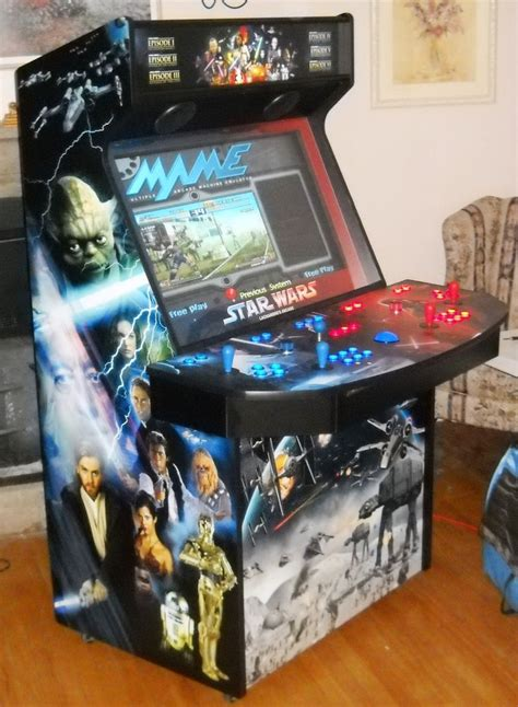 best arcade cabinets for home wow star wars tribute 4 player 37 quot lcd home video arcade