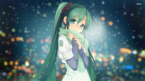 Anime Wallpaper Hd Hatsune Miku Hatsune Miku Wallpapers Wallpaper Cave