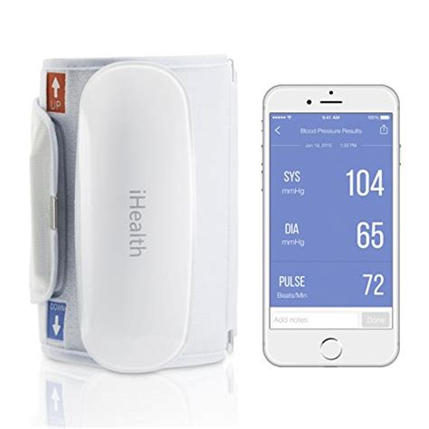 iphone pressure monitor ihealth bp5 wireless pressure monitor for iphone and