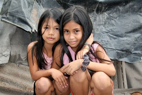 Asia Philippines The Slums In Angeles City Preteen G