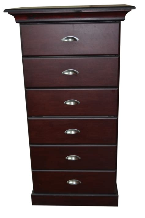 Chest Of Drawers Port Elizabeth by Chest Of Drawers With Six Drawers Mahogany Big Bucks