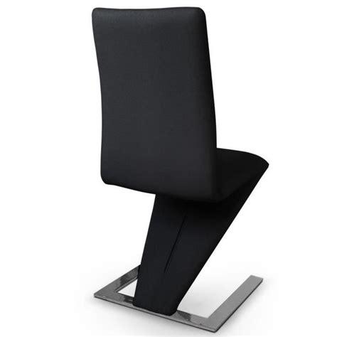 lot chaise pas cher lot de 6 chaises delano noir achat vente chaise salle a manger pas cher couleur et design fr