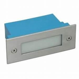 Petite Led Encastrable : applique led exterieur encastrable rectangulaire achat ~ Edinachiropracticcenter.com Idées de Décoration