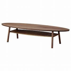 Couchtisch Oval Ikea : stockholm coffee table walnut veneer 180 x 59 cm ikea ~ Watch28wear.com Haus und Dekorationen