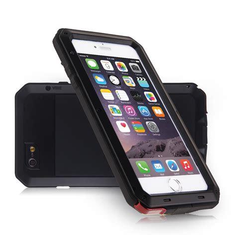 iphone 4 5 6 7 etui housse coque waterproof aluminium m 233 tal anti choc