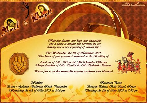 hindu wedding invitations wording hindu wedding invitations templates cloudinvitation